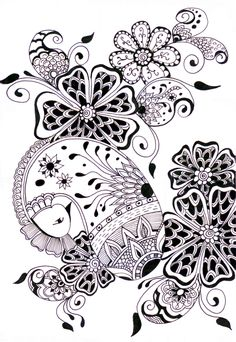 zentangle very pretty one :)