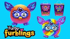 Furby Furblings Crystal Series Electronic Talking Toy Unboxing Rainbow |...