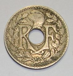 1927 France (French) 10 Centimes - Great Condition Coin !