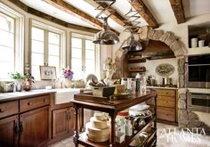 Design by Bill Cook, Vermilion Designs, and Michael Faust, Faust Architecture Interiors Design   Photography by Erica George Dines   Atlanta Homes & Lifestyles  