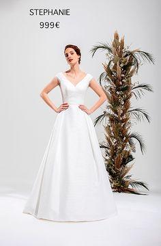 STEPHANIE Corsage, Glamour, Wedding Ceremony, One Shoulder Wedding Dress, Marie, Wedding Dresses, Collection, France, Weddings