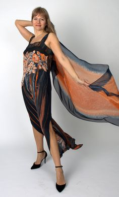 A personal favorite from my Etsy shop https://www.etsy.com/listing/264505254/the-velvet-season-sundress-scarf-crepe