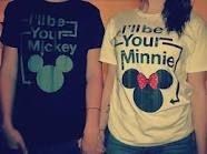 Boyfriend girlfriend shirts.