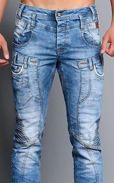 Cipo Baxx Mens Jeans CD179