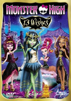 Two Copies of Monster High 13 Wishes on DVD to Be Won