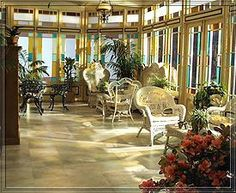 Charmed conservatory/sunroom
