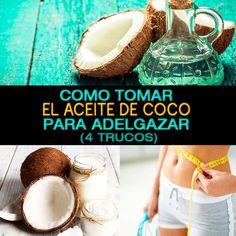 Como Tomar El Aceite De Coco Para Adelgazar (4 Trucos) - La Guía de las Vitaminas