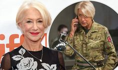 Helen Mirren ditches camo for floral gown at Eye In The Sky premiere