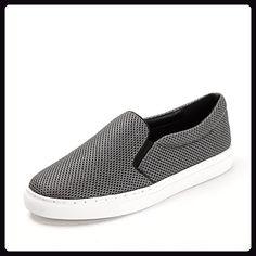 Ein Pedal Frühjahr atmungsaktive Mesh-Schuhe/Lässige Damenschuhe-grau Fußlänge=23.8CM(9.4Inch) - Hausschuhe für frauen (*Partner-Link)