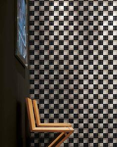#Bisazza #Decori 2x2 cm Vibration Noire | #Gres | su #casaebagno.it a 811 Euro/collo | #mosaico #bagno #cucina