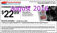 Free Printable Coupons: Firestone Coupons