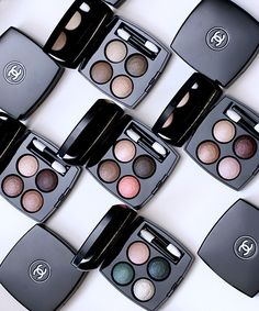 New Baked Goods From Chanel: The New Baked Formula Chanel Les 4 Ombres Quadra Eyeshadows for Fall 2014 - Makeup and Beauty Blog