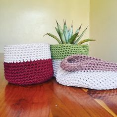 The cutest, softest, collapsible #crotchet #baskets for your baby #plants are here! Meet the #millabasket #amarisbasket #miradabasket only on • shopnanjala.com #nanjalaxkalees collabo just dropped! • link in bio Crotchet, Whats New, News Design, Baskets, Branding Design, Meet, Link, Plants, Baby