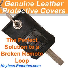 Genuine Leather Remote-Key Covers