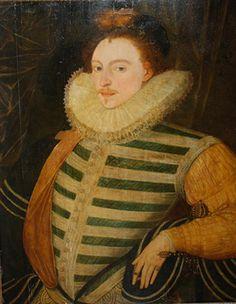 Portrait de Edward de Vere, 17e comte d'Oxford, style de Cornelis Ketel