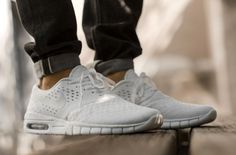 The Nike SB Eric Koston 2 Max – White / Metallic Silver – So Fresh and So Clean