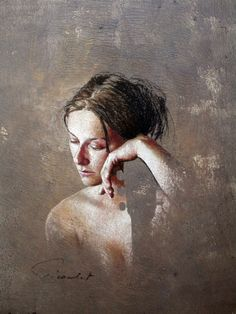 figurative pastel painting by Nathalie Picoulet Painting People, Woman Painting, Figure Painting, Painting & Drawing, Watercolor Paintings, Pastel Drawing, Pastel Art, Portrait Sketches, Portrait Art