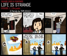 Messing with alternate realities like-           (Life Is Strange, Bioshock Infinite. by TheGouldenWay)