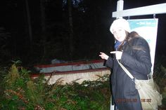 """This is Sister Autumn Jade Baldwin in the Silverdale area.   """"random boat"""" she said."""