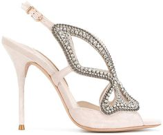 Sophia Webster embellished butterfly sandals