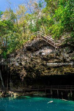 Cenote XCanché dans le Yucatán