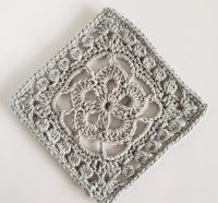 2020 New Year Stashdown Gorgeous Grannies Cal - Crochet a granny a day all through January. Joining Granny Squares, Gorgeous Grannies, Time Inc, Small Blankets, Happy New Year Everyone, Lap Blanket, Border Pattern, Fall Flowers, Good Old