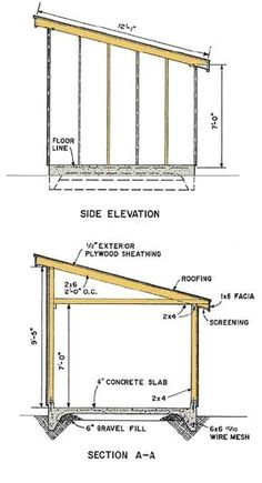 Wood Shed Plans - CLICK PIC for Many Shed Ideas. #shedplans #shedprojects