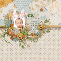BUNNY TRAIL by Forever Joy http://scraporchard.com/market/Bunny-Trail-Digital-Scrapbook-Kit.html  #foreverjoy | FJ-BUNNY-TRAIL bric.a.brac by Zoliofropes http://www.sweetshoppedesigns.com/sweetshoppe/product.php?productid=27728&cat=670&page=1