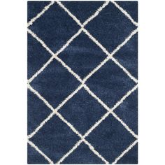Navy,On Sale 7x9 - 10x14 Rugs: Use large area rugs to bring a new mood to an old room or to plan your decor around a rug you love. Free Shipping on orders over $45!
