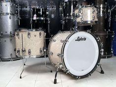 Ludwig Classic Maple 3pc Drum Set Vintage Marine Pearl New/Used!