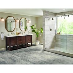 Armstrong Flooring Pickwick Landing III 12ft x cut to length Shale Gray Tile (low gloss) $40.98 SF
