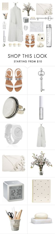 """Summer dress"" by jane-doe-1977 ❤ liked on Polyvore featuring Zara, Polaroid, People Tree, Lord & Berry, Nixon, Andrea Marques, LEXON, Sugar Paper, ESSEY and Labrazel"
