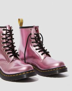 Dr. Martens, Dr Martens Vegan, Dr Martens Store, Metallic Ankle Boots, High Heel Sneakers, Vegan Shopping, White Boots, Goodyear Welt, Crazy Shoes