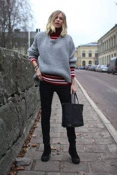 20 Ways Layer like a Street Style Pro—Here's what to wear under your sweater this winter!