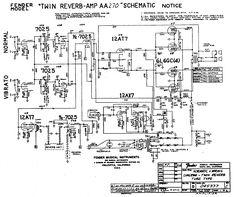 Αποτέλεσμα εικόνας για fender twin reverb 135 watt schematic