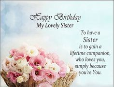 Birthday Messages For Sister, Birthday Wishes For Sister - Wishes Disney Birthday Greetings For Sister, Birthday Messages For Sister, Birthday Wishes For Lover, Message For Sister, Birthday Wishes And Images, Birthday Wishes For Daughter, Sister Birthday Quotes, Happy Birthday Pictures, Happy Birthday Sister