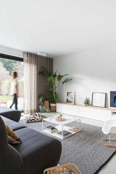Living Room Tv, Living Room Remodel, Home And Living, Living Area, Living Spaces, Scandinavian Living, Interior Inspiration, Living Room Designs, House Design