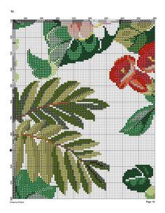 127579-fdfd6-43492901-m750x740-ueea6f (541x700, 188Kb) Cute Cross Stitch, Cross Stitch Flowers, Cross Stitch Charts, Cross Stitch Patterns, Magnolia Flower, Cutwork, Cross Stitching, Cactus Plants, Pixel Art