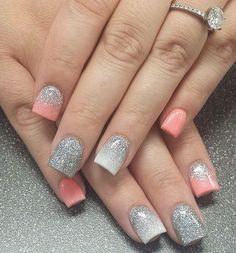 Cute Acrylic Nails Art Design 7