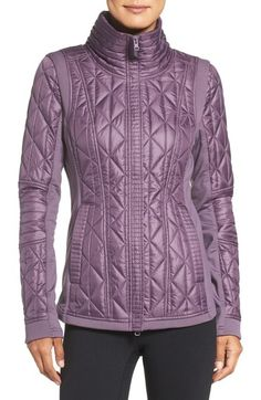 Main Image - Zella Brooklyn Quilted Jacket