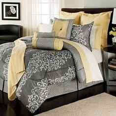 The Great Find- -16 Piece Comforter Set Nero