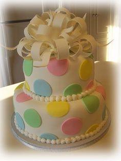 Pastel Polka Dots - everyone needs a polka dot birthday cake!!! :)
