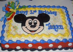 Cake Mickey Mouse Sheet Flickr Photo Sharing