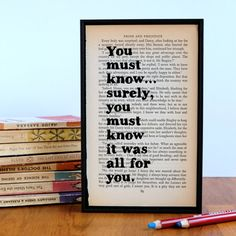 Hey, I found this really awesome Etsy listing at https://www.etsy.com/listing/194774504/you-must-know-mr-darcy-quote-pride-and
