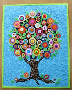 """I am in love.  Running to check my button collection ....  """"The Button Tree"""" by mamacjt, via Flickr"""