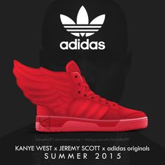 "Kanye West x adidas Originals x Jeremy Scott - ""JS Wings""   #AGPOS"