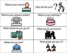Save valuable time and find already created activities, from the Boardmaker Community and Premium Activities, to meet all your students' individual needs. Wh Questions, Personal Questions, Adjectives Grammar, Vocational Skills, Inclusive Education, Emotional Regulation, What Is Your Name, Social Thinking, Career Goals
