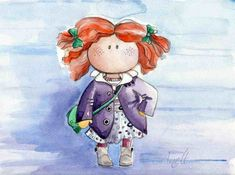 Акварельные иллюстрации от Anell Happy Watercolor