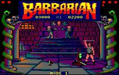 barbarian, amstrad cpc 6128; hours playing at this....