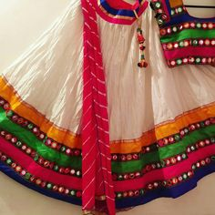 Do you want to buy Chaniya Choli online? At Fashion ka Fatka you will find the best and traditional chaniya choli and lehenga choli from huge collection. Our Lehenga Choli collection is latest and it is exactly what you are looking for wedding season. Chaniya Choli For Kids, Garba Chaniya Choli, Garba Dress, Navratri Dress, Lehnga Dress, Lehenga Choli, Lehenga Blouse, Kids Frocks Design, Baby Frocks Designs